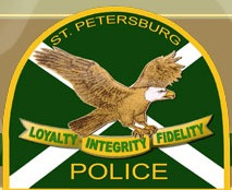 St Petersburg Police Department Logo