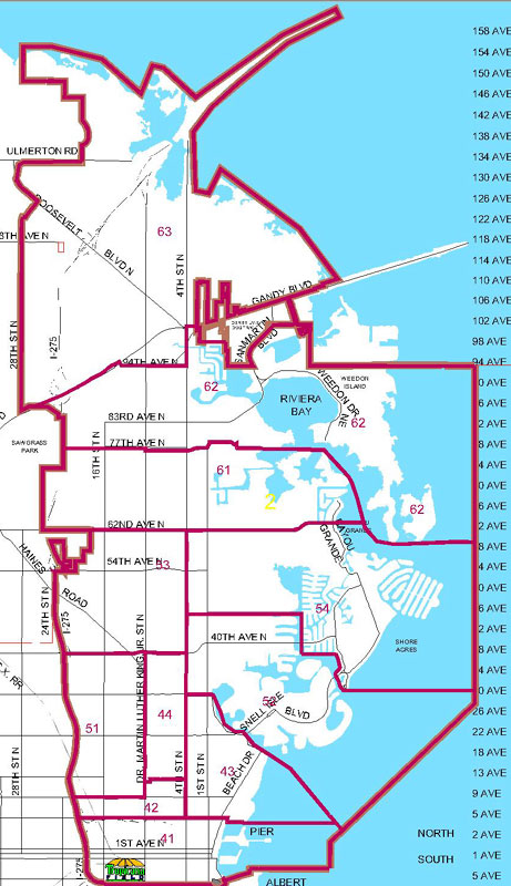St Petersburg FL Police Neighborhoods District 2